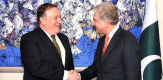 FM Qureshi sees second meeting with Pompeo My Country