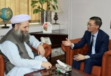 Minister discusses Xinjiang Muslims with Chinese envoy My Country